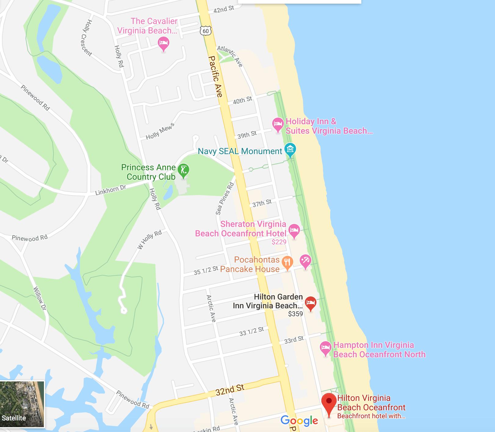 2018 Hotel Locations
